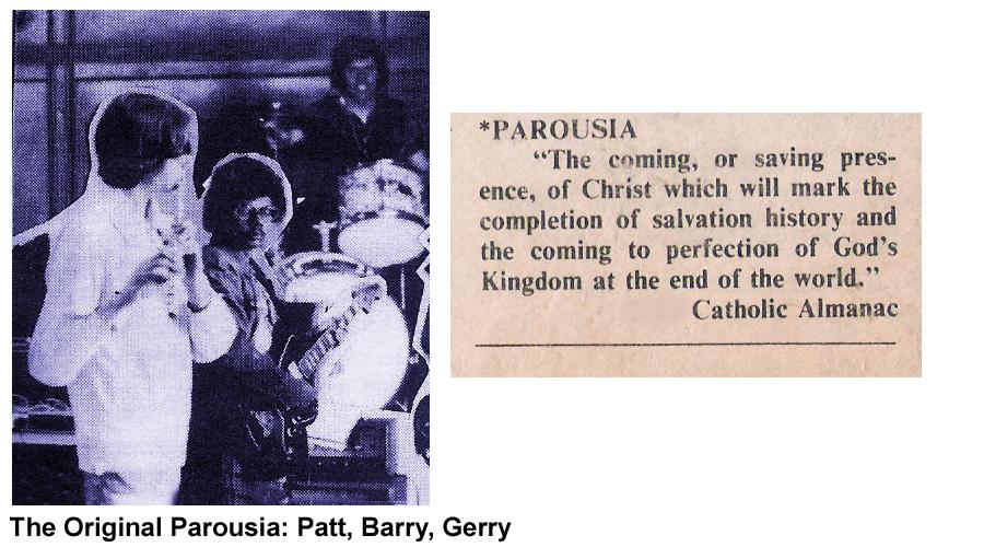 Original Parousia 1975