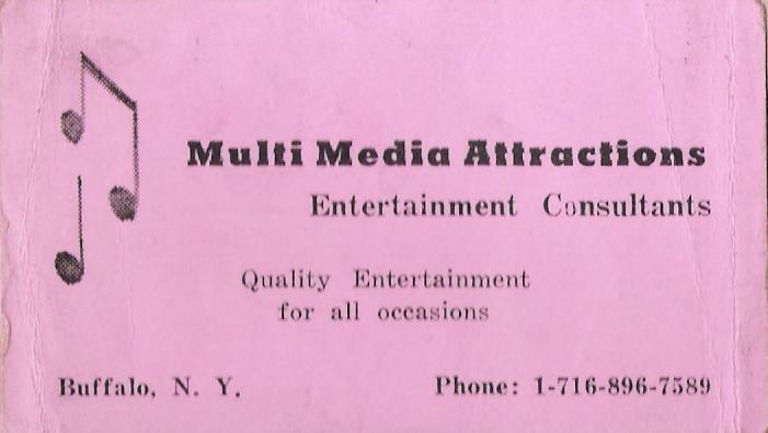 MultiMedia Attractions Business Card