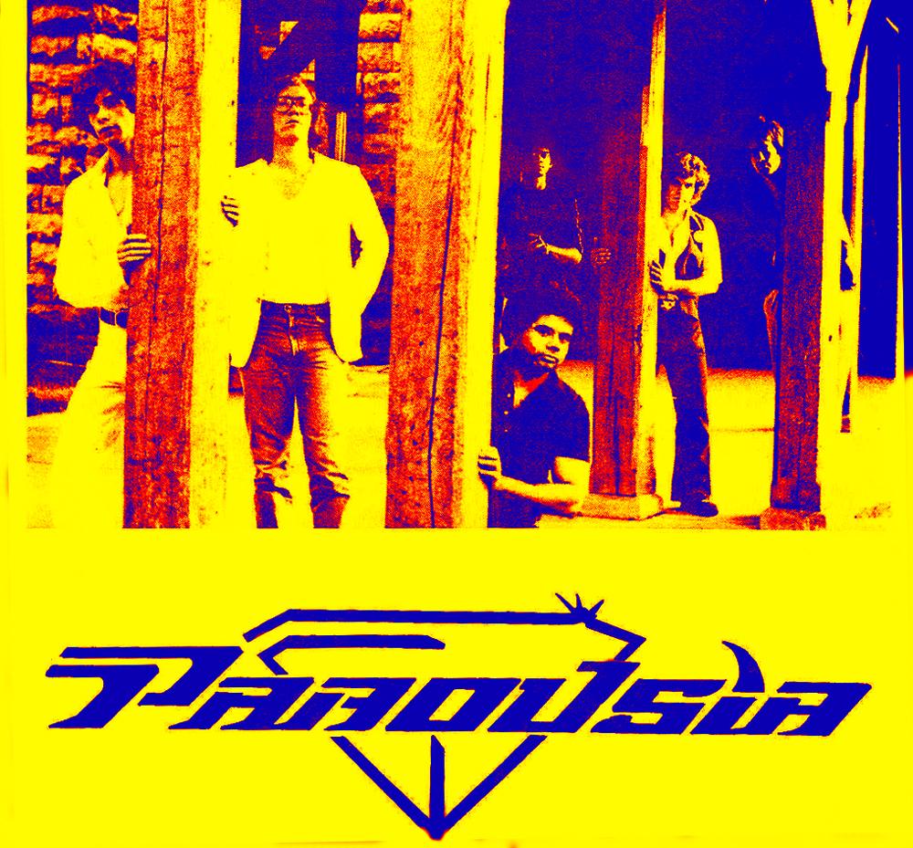 Parousia 1981:  Patt Connolly, Eric Scheda, Bob Lowden, Barry & Gerry Cannizzaro, Garth Huels
