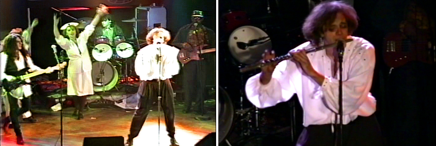 Parousia's final show at the Roxy Theater, January 09, 1992 w/ Iaian Hersey (guitar), Kenny Gray (bass) Gerry Cannizzaro (drums) Patt Connolly (vocals, flute)
