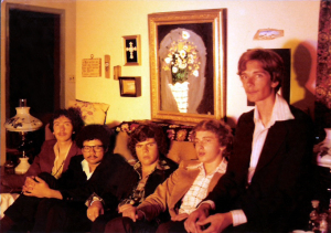 Parousia first photo session - December 1975