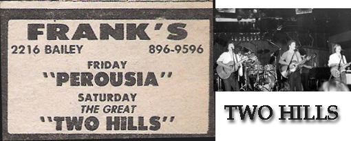 "Who the hell is ""PEROUSIA"" Friday Sept. 12, 1980? Two Hills, Saturday Sept. 13, 1980."