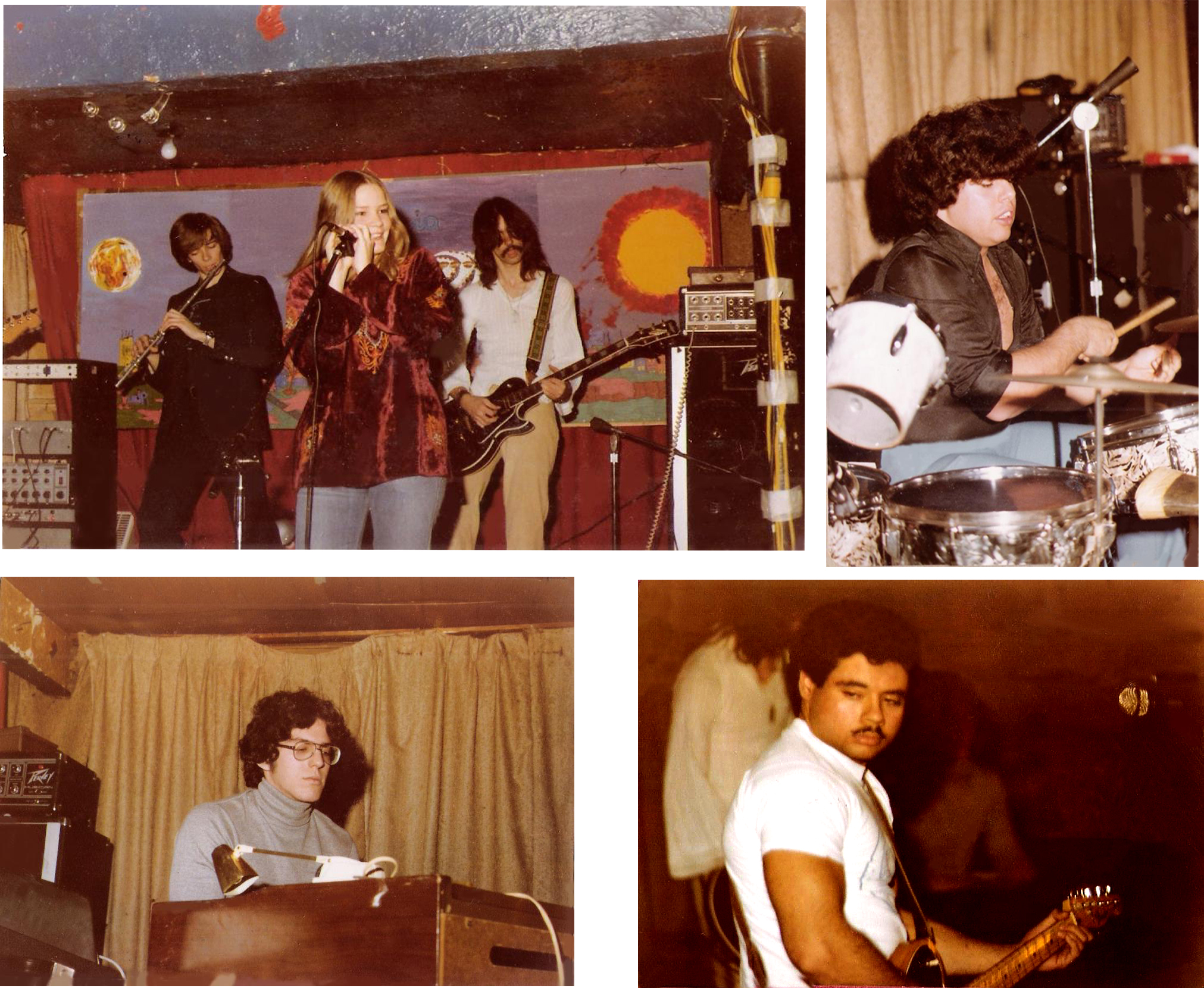 PAROUSIA 1979: Bob Lowden, Patt Connolly, Kim Watts, Garth Huels. Gerry Cannizzaro, David Maltbie, Barry Cannizzaro