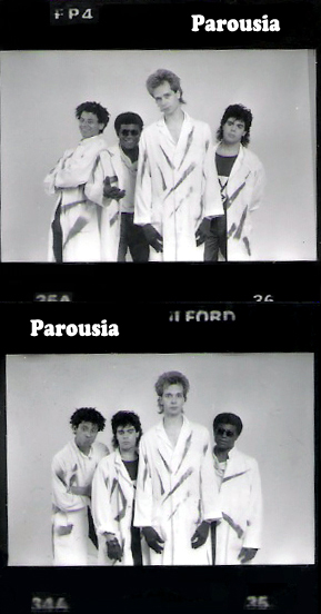 PAROUSIA – Saturday October 22, 1988, UCLA Cooperage Hall