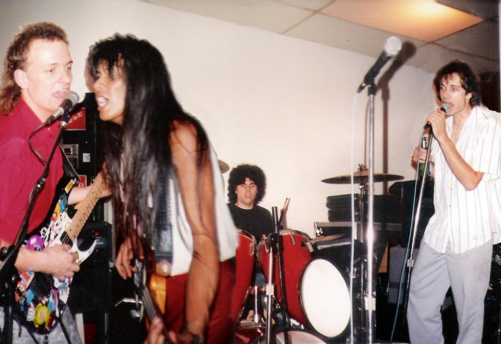 Parousia at rehearsal 1990