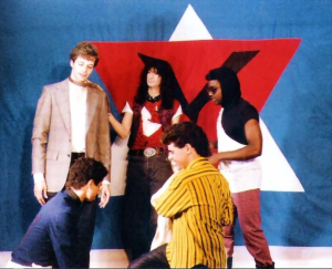 Parousia photo session at the Chamber - 1986