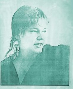 Kim Watts - Parousia photo session - Elmwood Art Gallery May 4, 1980