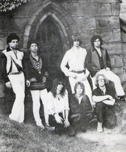 Parousia photo session at Forest Lawn Cemetery - August 1980