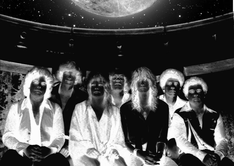 Parousia 1980: Patt Connolly, Kim Watts, Garth Huels, Gerry & Barry Cannizzaro, Bob Lowden, Eric Scheda.