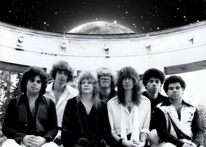 PAROUSIA 1981: Gerry Cannizzaro, Patt Conolly, Kim Watts, Eric Scheda, Garth Huels, Robert Lowden, Barry Cannizzaro