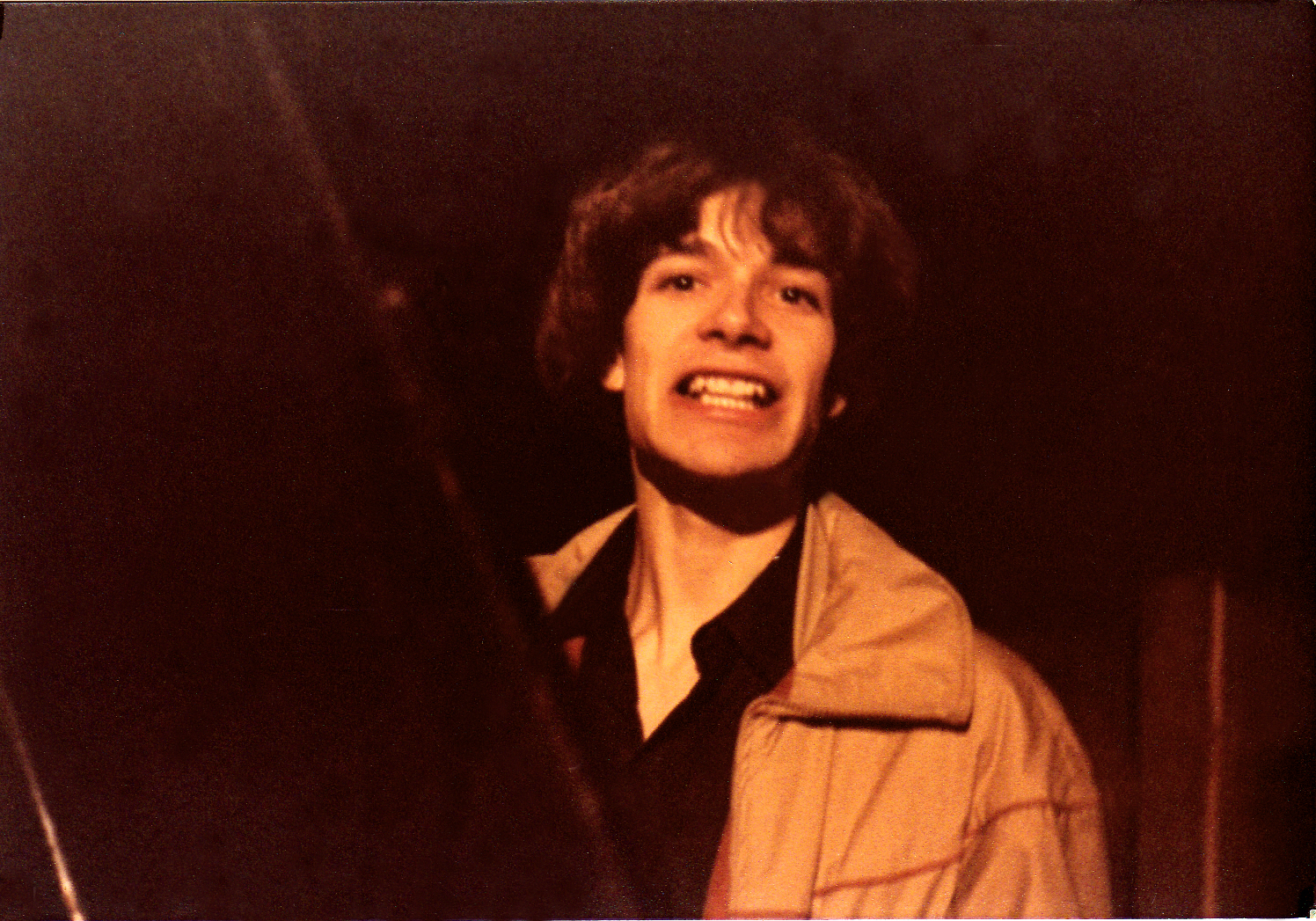 Patt Connolly in Room 7 of the Music Mall 1981