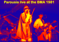 Parousia- November 23,1981 - Buffalo Backstage Music awards