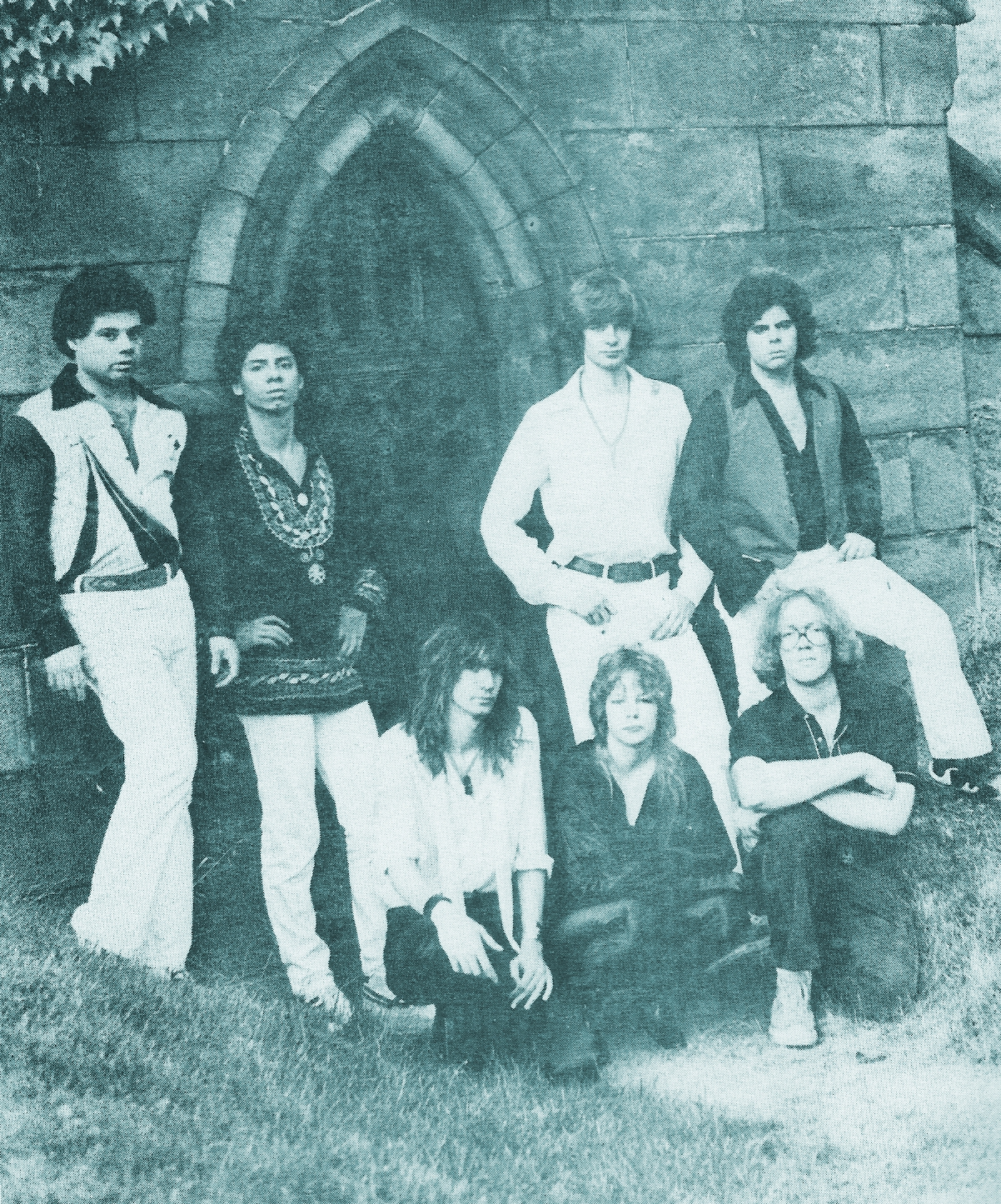 PAROUSIA 1980; Photo taken at Forest Lawn Cemetery.  –photo courtesy of Marsha Falcowski.