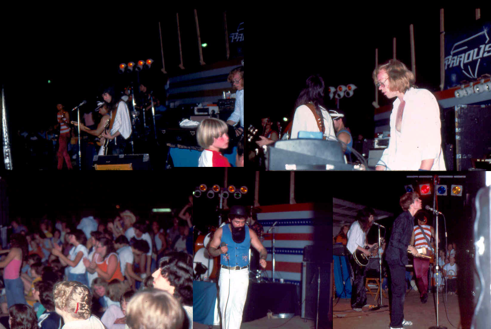 Parousia concert at Riverside Park – July 3rd 1981