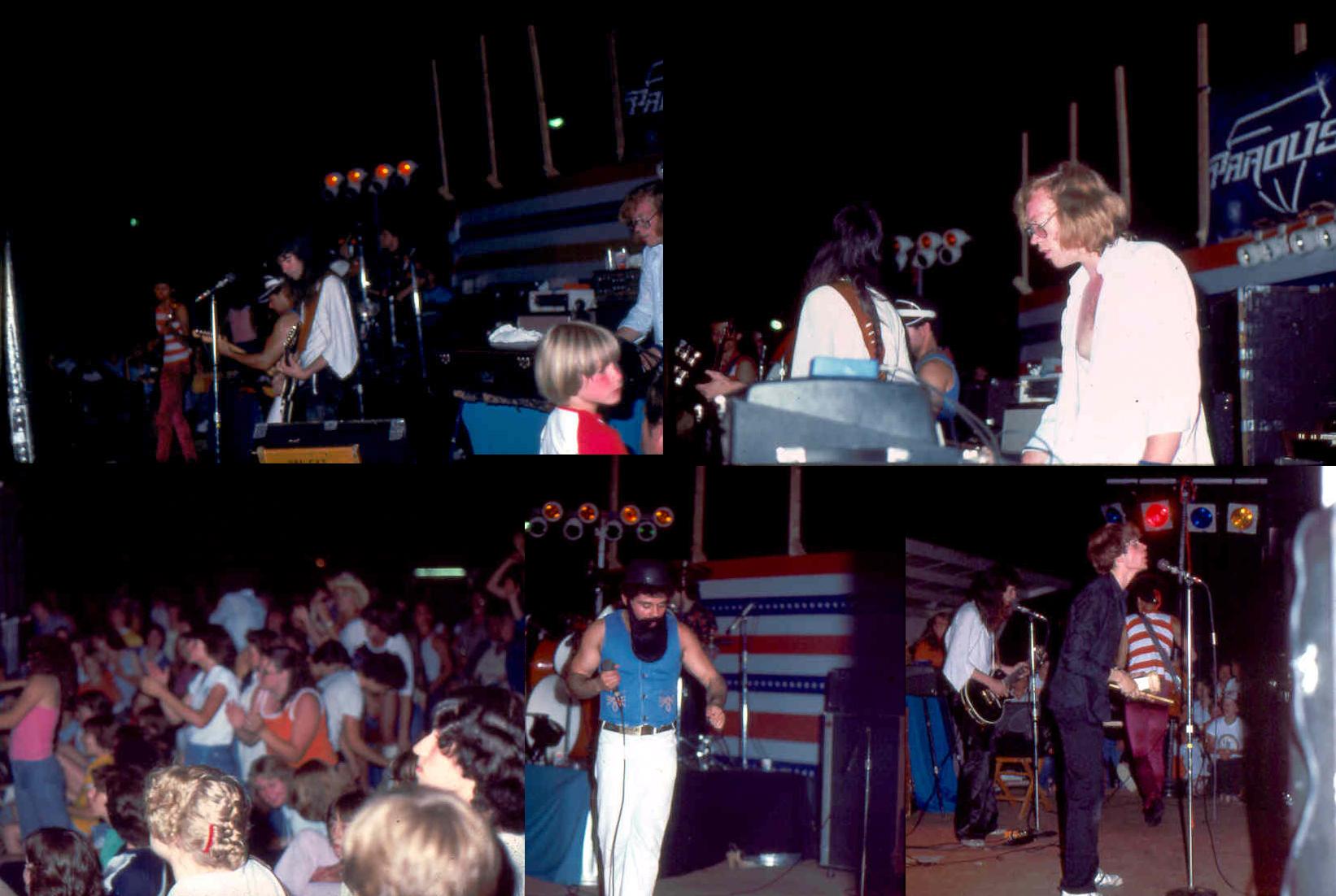 Parousia concert at Riverside Park – July 3rd 1981