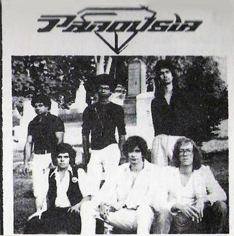 PAROUSIA 1982: Barry & Gerry Cannizzaro, Patt Connolly, Robert Lowden, Garth Huels and Eric Scheda