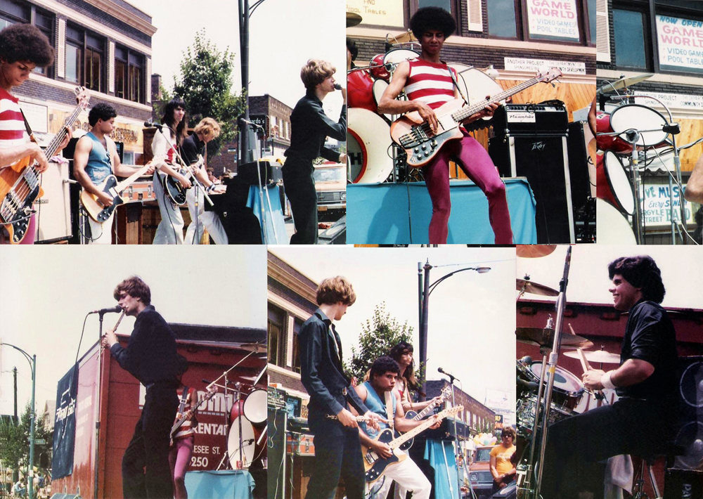 Parousia at the Hertel Happening, Buffalo, NY - Saturday August 1st, 1981