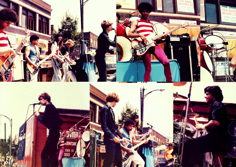 "Parousia concert at ""the Hertel Happening"" August 1st, 1981"