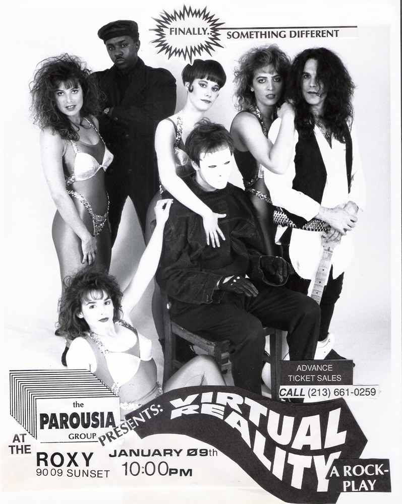 Band Flyer: Parousia at the Roxy Theater – January 9, 1992