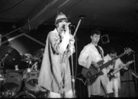 Parousia performs 'MYRON' at the Buffalo backstage music awards Nov. 23,1981
