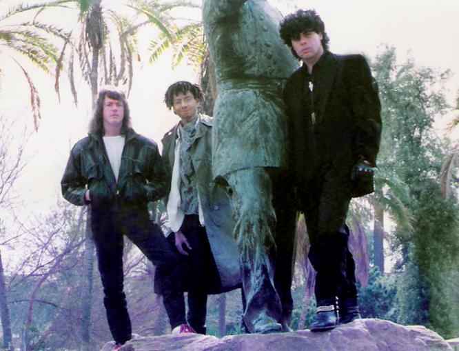 Marty Leggett keyboardist from Reno Nevada joins Parousia in December 1988