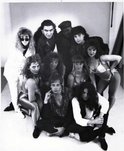 Parousia presents Virtual Reality Show - photo session, Burbank, CA - 1991