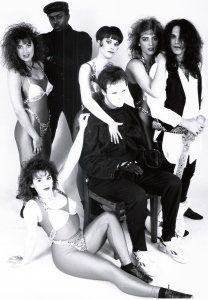 Parousia presents Virtual Reality Show - photo session, Burbank, CA - 1991