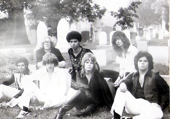 Parousia 1981: Barry Cannizzaro, Eric Scheda, Patt Connolly, Robert Lowden, Kim Watts, Garth Huels, Gerry Cannizzaro