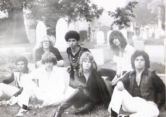 Parousia 1981: Gerry & Barry Cannizzaro, Patt Connolly, Kim Watts, Garth Huels, Eric Scheda, Robert Lowden