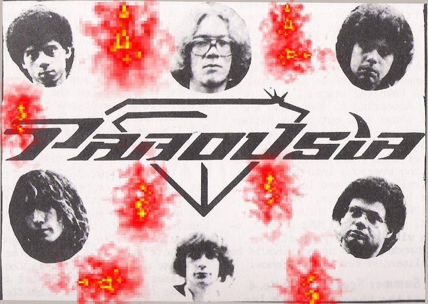 Parousia - Disembodied Heads 1981