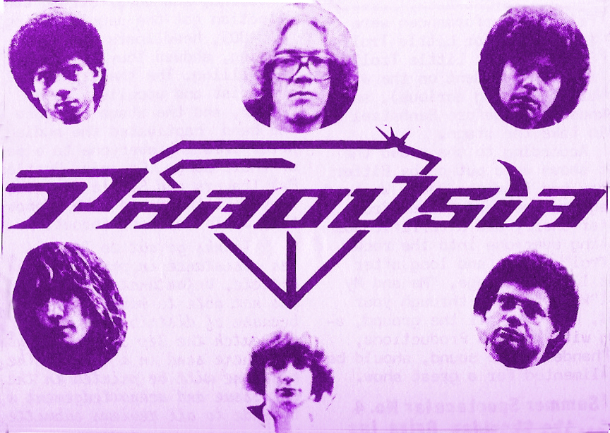 Parousia_1981 Fast Annies 04.10.1982
