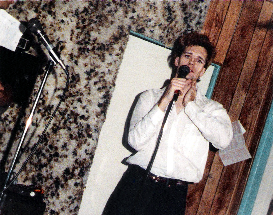 Patt Connolly Feb 1988 - Tularosa Dr,  Rehearsal