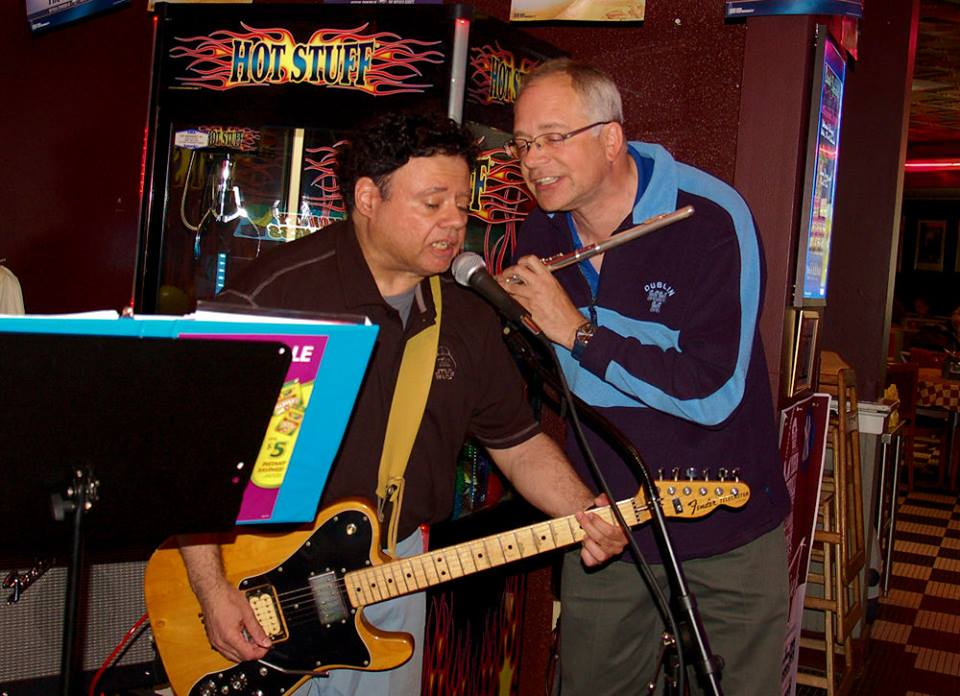 Patt Connolly and Barry Cannizzaro at Zebb's 05.20.2015