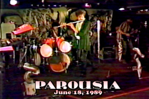 Patt Connolly, Gerry N. Cannizzaro & Robert Lowden - Parousia at Bogart's June 18, 1989