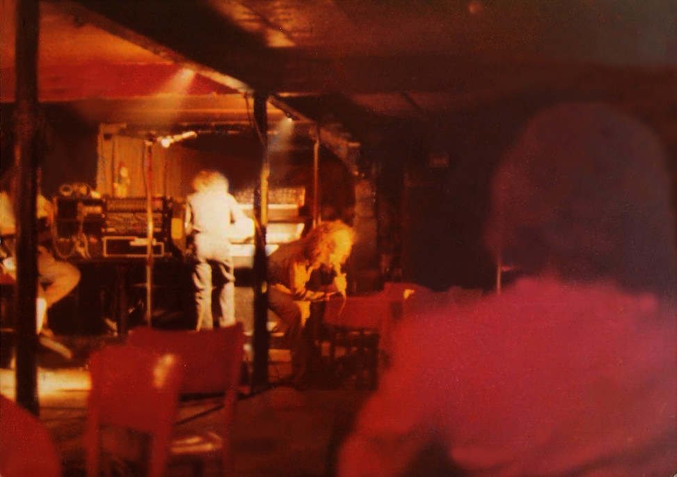 Mark Freeland (Vocals) and Steve Trecaise (Keyboards) with Pegasus - 1979