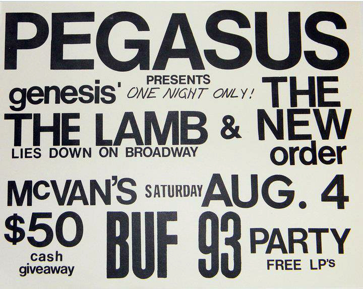 A classic Pegasus show performing The Lamb Lies Down On Broadway in its entirety.