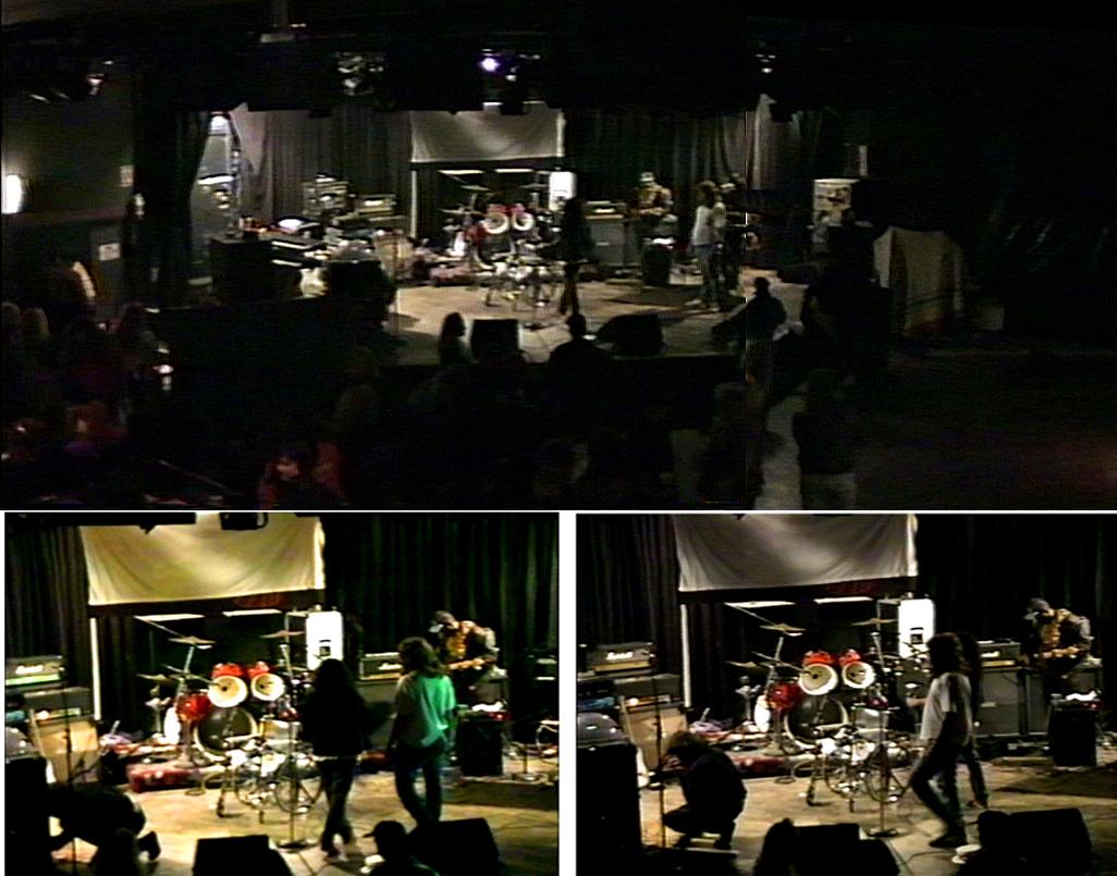 Roxy pre-show: Onstage w/ KROQ's Ken Fusion (Jon Egger)