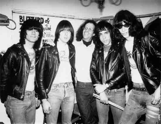 The Ramones and Gary Storm