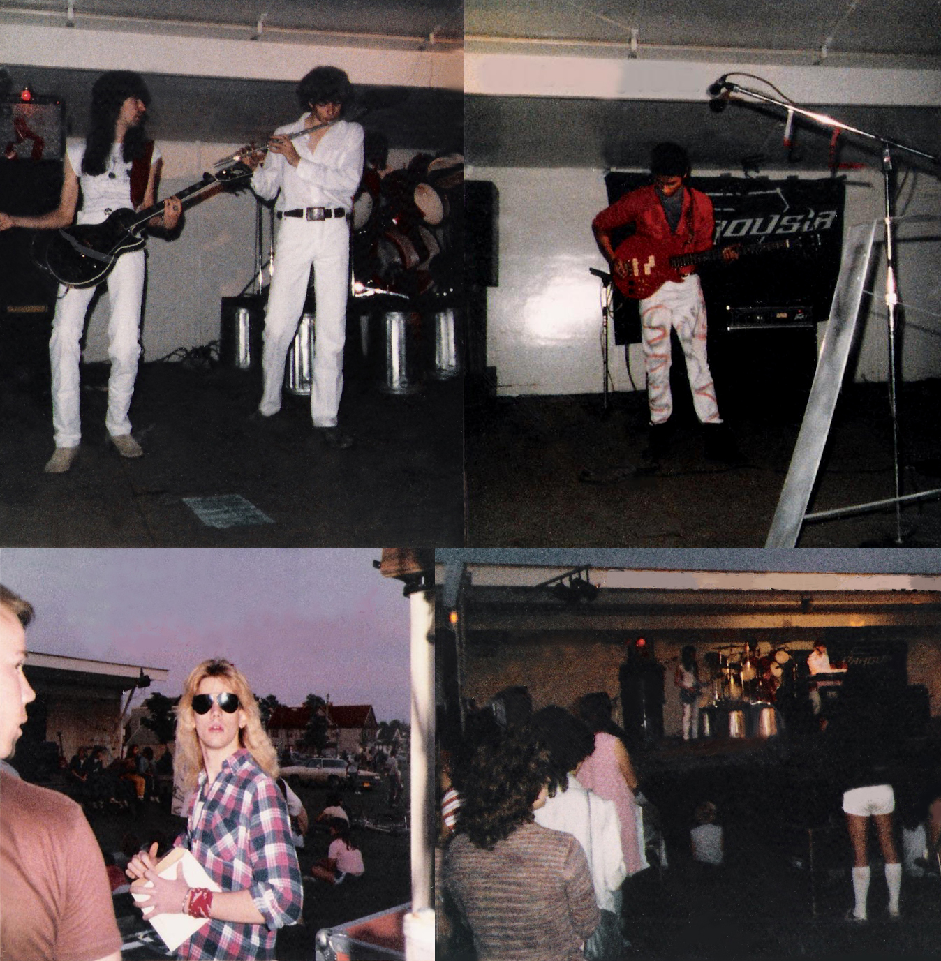 Parousia concert at Riverside Park - June 30th 1984