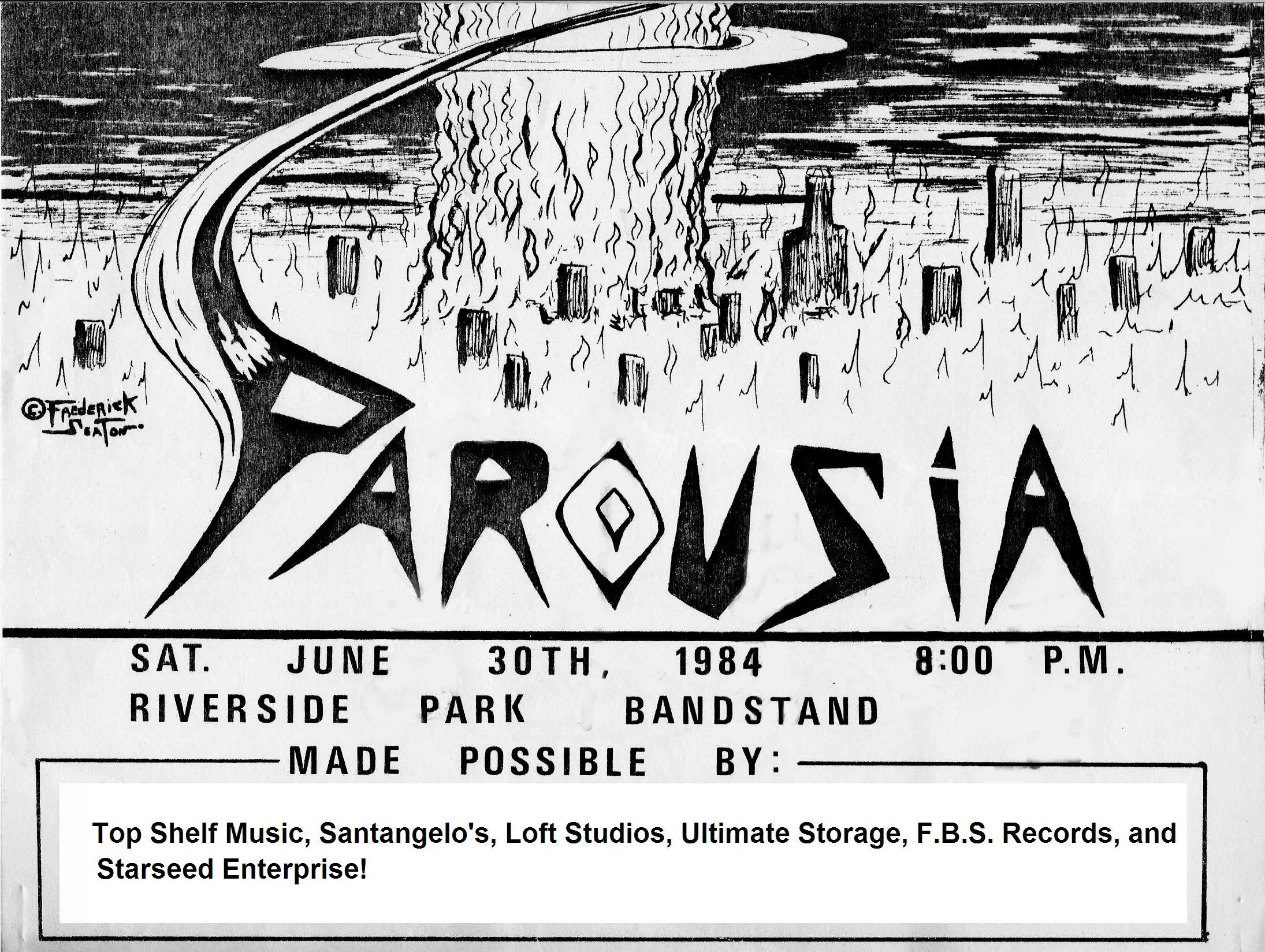 Riverside Park June 30th  Poster by Frederick Seaton  (BOTTOM)