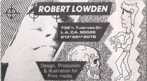 Robert Lowden digital artist