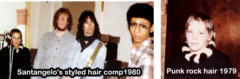 Santangelo & Punk hair