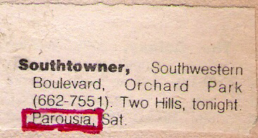 Southtowner, Satrurday Oct 11, 1980