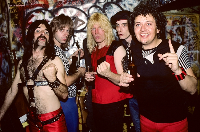 Spinal Tap1984 - Rumor has it that the lads came to our show and stole our fashion ideas. You decide...