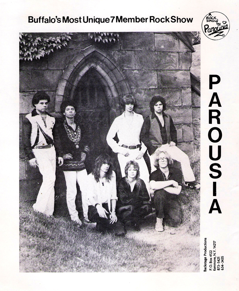 Parousia official promo-picture of choice from 1980-1982.