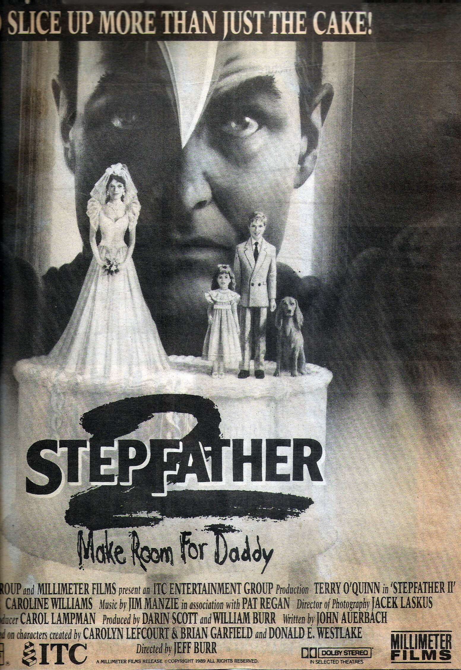 Terry O'Quinn in Stepfather II featuring 'Tiffany' by Parousia