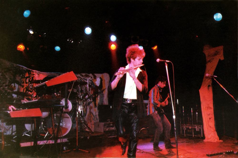 Parousia at The Roxy Theatre, Sunset Strip, West Hollywood, CA – June, 1989