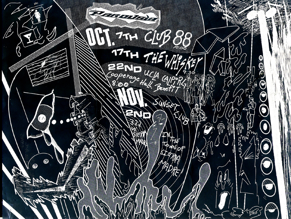 Parousia: At the Whisky a-go-go October 17th, 1988. 9:30 pm