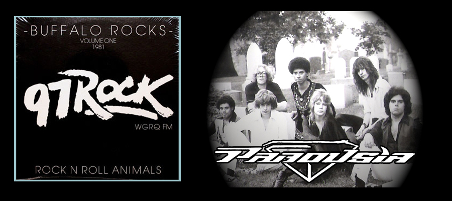 "Parousia appearing on the 97 Rock ""Buffalo Rocks"" album."