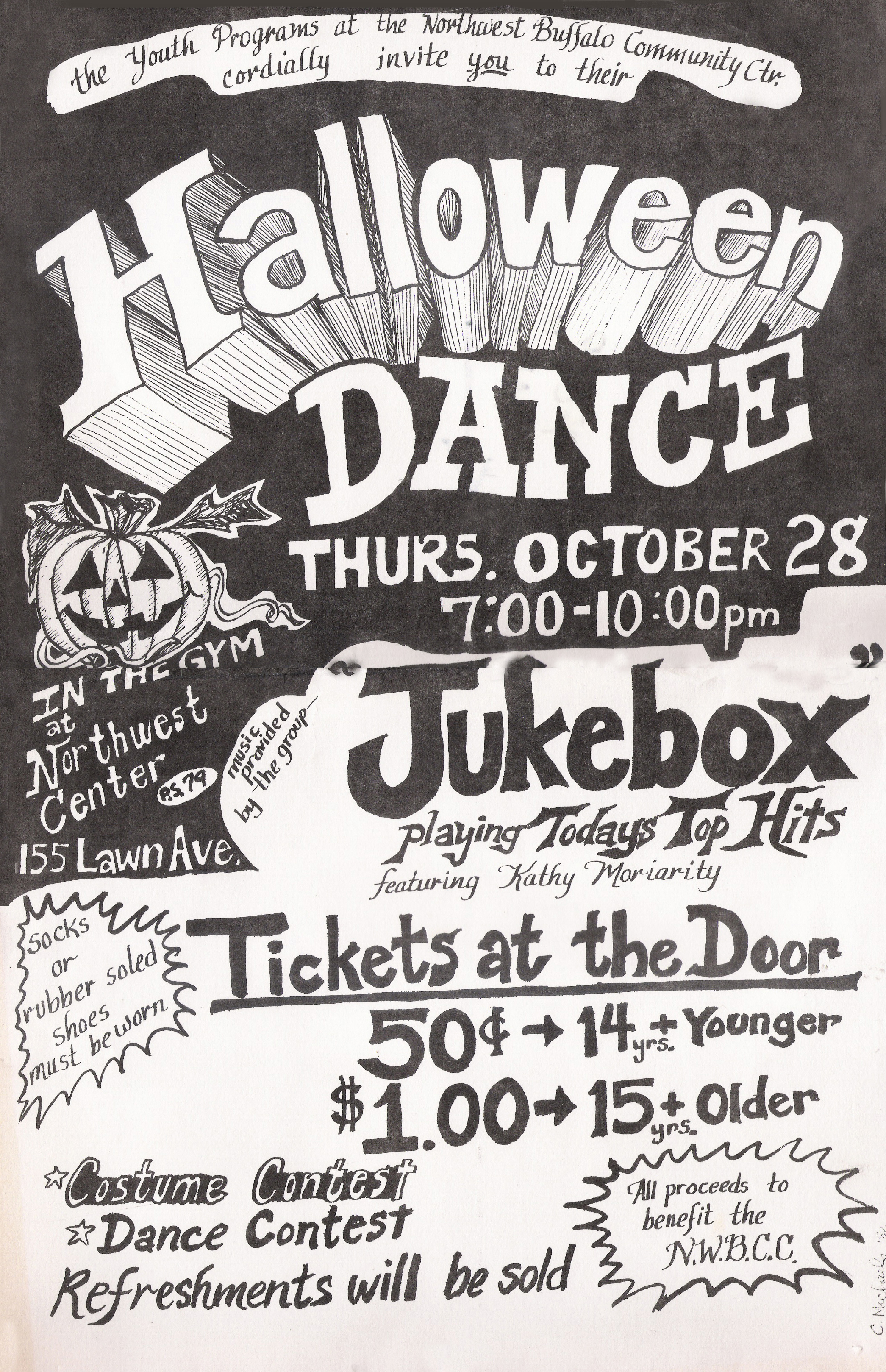 First Gig: Jukebox at the N.W. Community Center - 10.28.1982